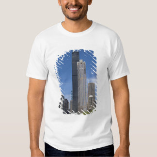 Willis Tower (previously the Sears Tower) looms T-shirts