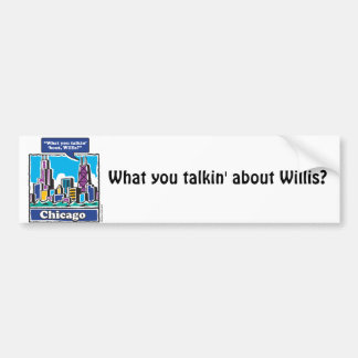 Willis Tower/Sears Tower Bumper Sticker