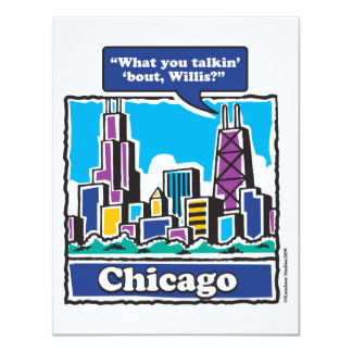 Willis Tower/Sears Tower Personalized Invites