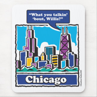 Willis Tower/Sears Tower Mouse Pad
