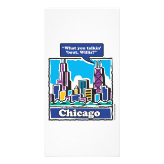Willis Tower Sears Tower Personalized Photo Card