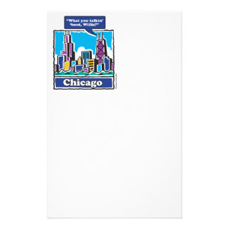Willis Tower/Sears Tower Stationery Paper