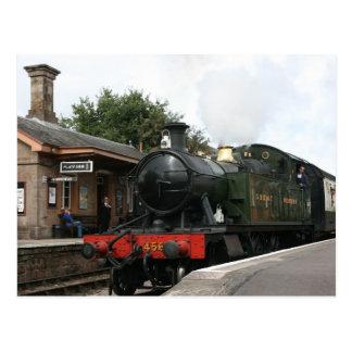 Williton station, West Somerset Railway, UK Postcards