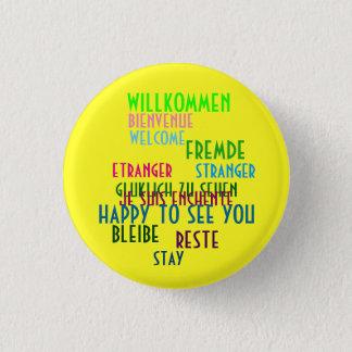Willkommen cabaret lyrics 3 cm round badge