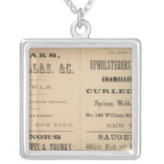 Willouchby H Reed and Company Silver Plated Necklace
