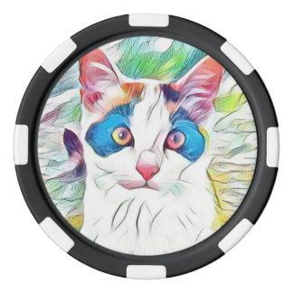 Willow2 Art10 Poker Chips