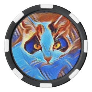 Willow Art27 Poker Chips