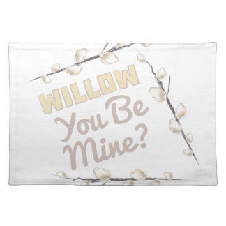 Willow Be Mine Placemat