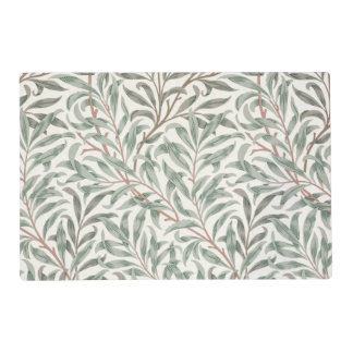 Willow Bough, wallpaper design, 1874 (wallpaper) Placemat