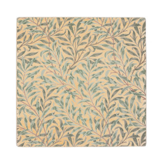 Willow Bough, wallpaper design, 1874 (wallpaper) Wood Coaster
