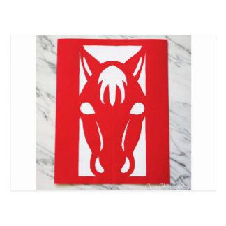WILLOW CREEK HORSE RANCH POSTCARD