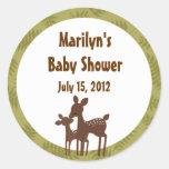 Willow Deer Baby Mummy Kiss Sticker