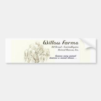 Willow Farms Bumper Sticker