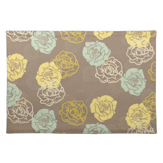 Willow Floral Place Mats