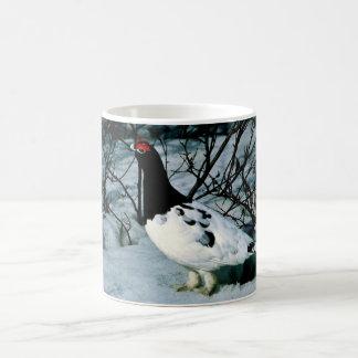 Willow Ptarmigan Basic White Mug