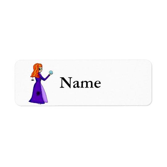 Willow Return Address Label
