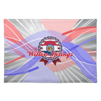 Willow Springs MO Placemat