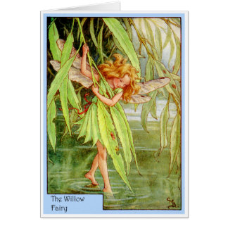 Willow Tree Fairy Greeting Card