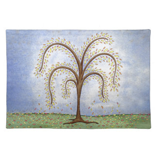 Willow Tree Cloth Place Mat