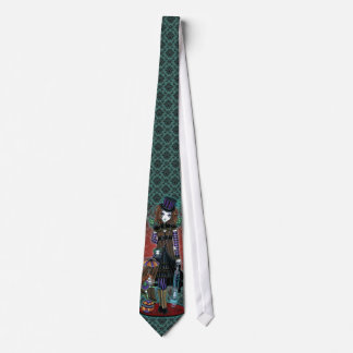"""Willow"" Victorian Steampunk Circus Faery Tie"