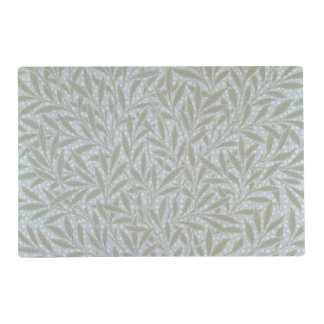 Willow wallpaper design, 1874 laminated placemat