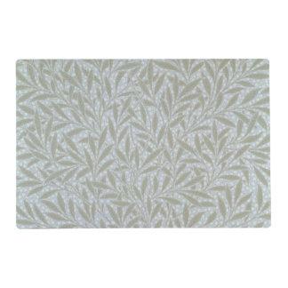 Willow wallpaper design, 1874 laminated place mat