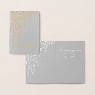 Willows Mini Wedding Card
