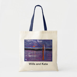 Wills and Kate on the beach Bag