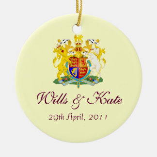 Wills and Kate Royal Wedding Keepsake Ornament