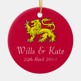 Wills And Kate Royal Wedding Ornament