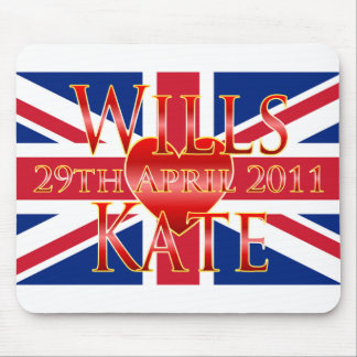 Wills & Kate Mouse Mat