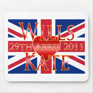 Wills & Kate Mouse Pad