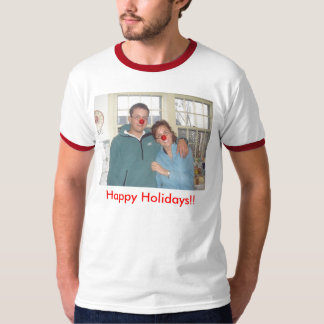 Wills - Rudolph, Happy Holidays!! - Customized T-Shirt
