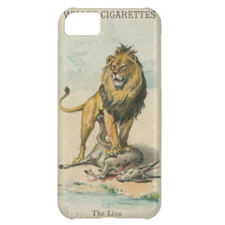 Wills's Collectible Cigarette Cards - The Lion iPhone 5C Case