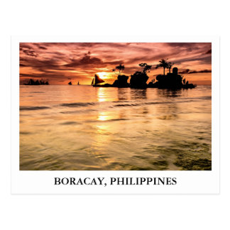 Willy s Rock in Boracay Philippines Postcards