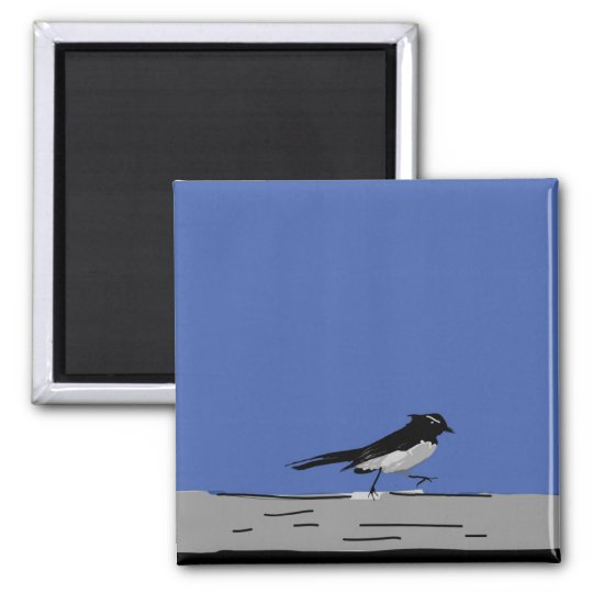 Willy Wagtail Magnet