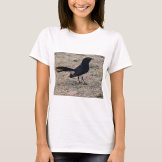 WILLY WAIGTAIL ON A FENCE RUARAL AUSTRALIA T-Shirt