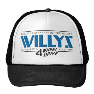 Willys 4WD Blue Hat