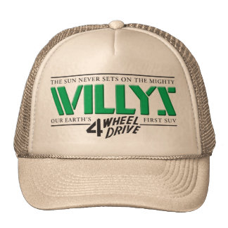 Willys 4WD Green Hat