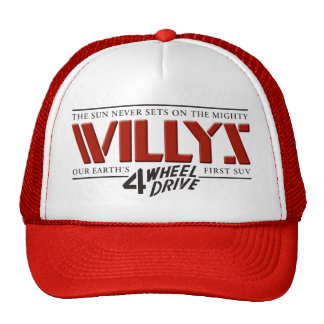 Willys 4WD Red Hat