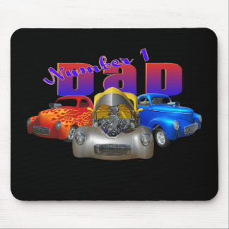willys number 1 dad mouse pad
