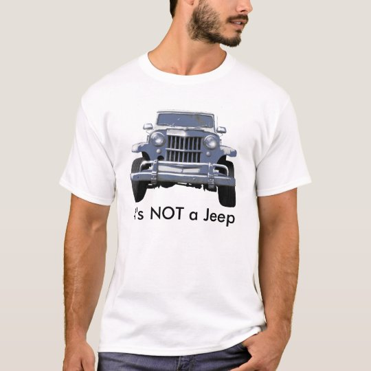 Willys Wagon  Truck T-Shirt
