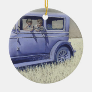 Willys Whippet Round Ceramic Decoration