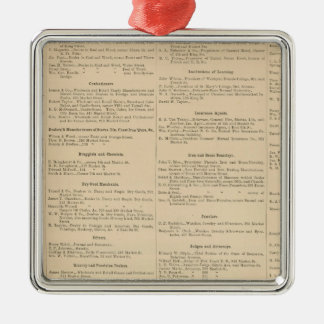 Wilmington Delaware business directory Silver-Colored Square Decoration