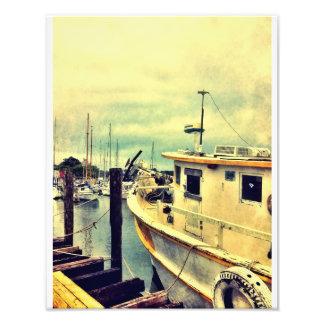 Wilmington Island Boat Dock Photographic Print