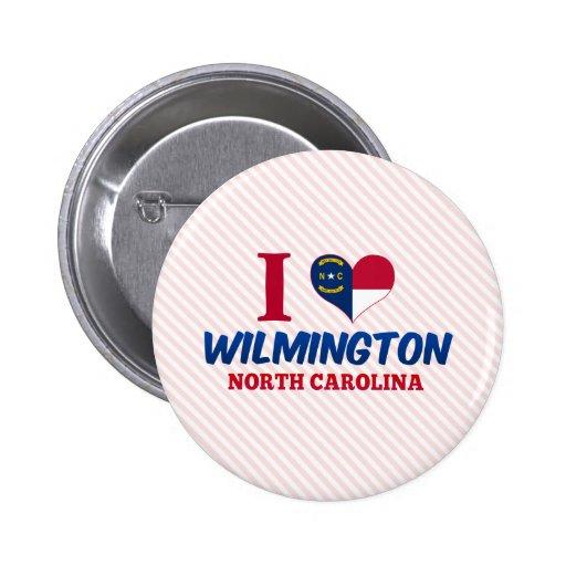 Wilmington, North Carolina 6 Cm Round Badge