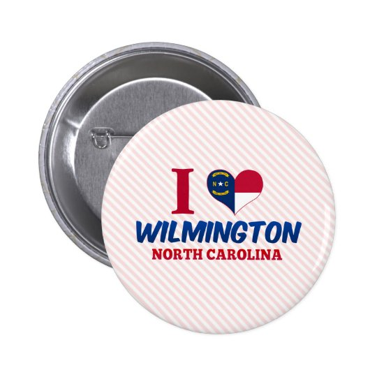 Wilmington, North Carolina 6 Cm Round Badge