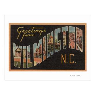 Wilmington, North Carolina - Large Letter Scenes Postcard