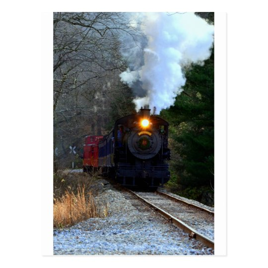 Wilmington/Western Railroad Postcard