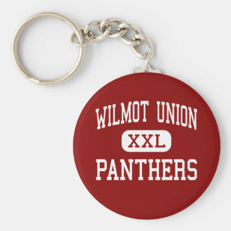 Wilmot Union - Panthers - High - Wilmot Wisconsin Keychains